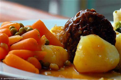Aardappels met groente