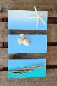 Maritime Deko Ideen : maritime muscheln deko seestern hintergrund blaue nuancen basteln pinterest oder basteln ~ Markanthonyermac.com Haus und Dekorationen