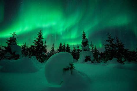 Snow Lights by Borealis Broadsheet Ie
