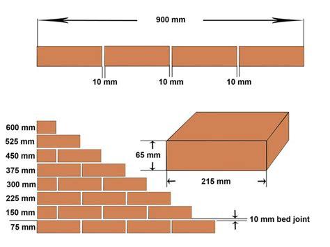 Brick Size Mm  Useful Info  Brick, Brick Construction