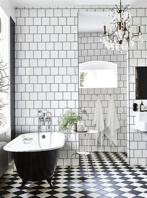 bathroom tiles black and white ideas 50 cool bathroom floor tiles ideas you should try digsdigs