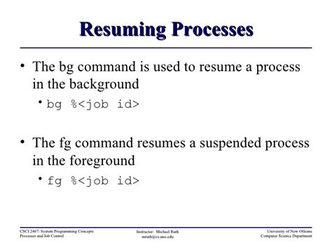 resume suspended process linux suspend and resume a