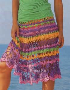Free Lace Crochet Skirt Pattern