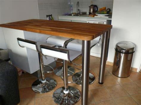 tables de cuisines table de bar cuisine table en verre salle a manger