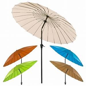 Sonnenschirm 2 M : sonnenschirm gartenschirm schirm kurbelschirm tokio rund 2 5 m farbe nach wahl ebay ~ Buech-reservation.com Haus und Dekorationen