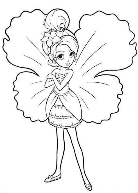 barbie coloring pages fairy barbie  print  color