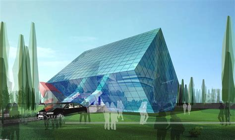 architect designs 16 futuristic concept architecture designs