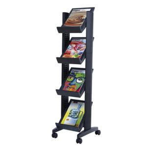 Mobile Display Stands by Mobile Brochure Display Stand M1367106 Kaiser Kraft