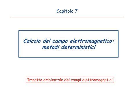 ci elettromagnetici dispense misura di ci elettromagnetici incertezza dispense