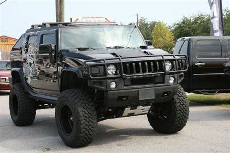 sell    hummer sut lifted wd skyjacker american