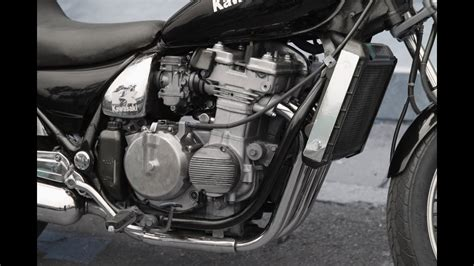 17. Kawasaki Zl400 Eliminator Motorcycle Engine Start And