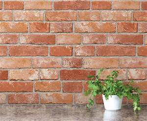 Brick Pattern Contact Paper Prepasted Wallpaper Wall ...