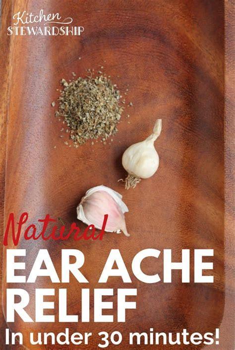 Natural Home Remedy to Heal an Earache