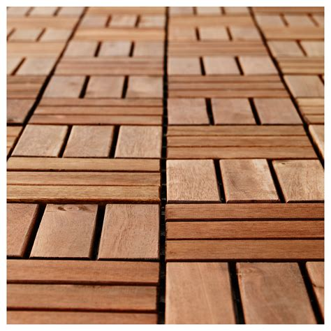18 runnen floor decking outdoor brown stained