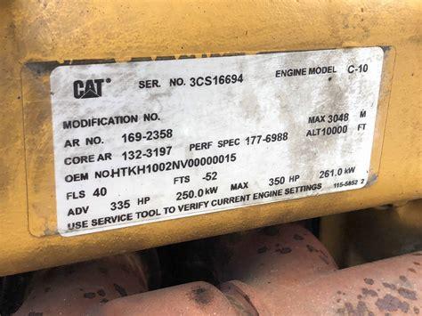 caterpillar  engine  sale cs dd diesel