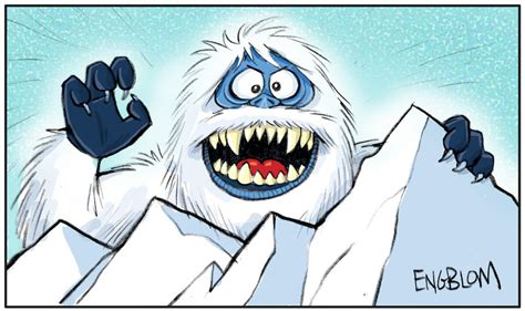 how to draw the rudolph abominable snowman the abominable snow a k a the bumble by mengblom on deviantart