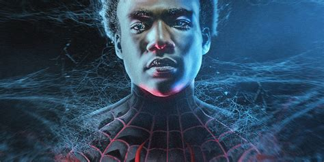 donald glover for spiderman what donald glover looks like as spider man s miles morales