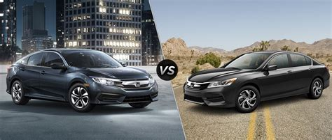 2016 Honda Civic Vs 2016 Honda Accord