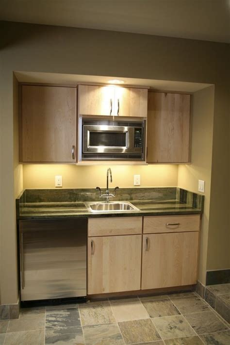 Kitchenette Cabinets by Basement Kitchenette Idea Boring Cabinets But Use Of