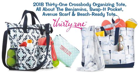 2018 Thirty One Bags Totes And More Check Out The