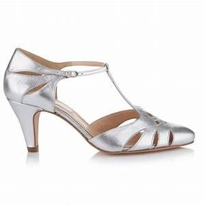 Jasmine Antique Leather Wedding Shoes By Rachel Simpson