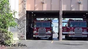 Engine 1 Responding Vancouver Fire Department  2012 Pierce