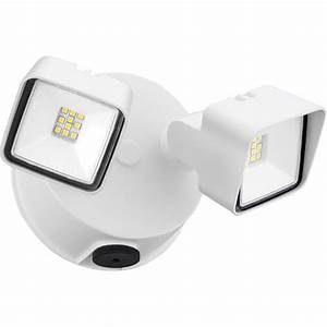 Lithonia lighting white adjustable twin head integrated