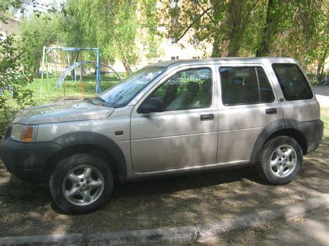 land rover freelander 2000 2000 land rover freelander pictures 1 8l gasoline