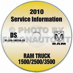 2010 Ram Truck 3500 4500 5500 Cab And Chassis Repair Shop Manual Cd