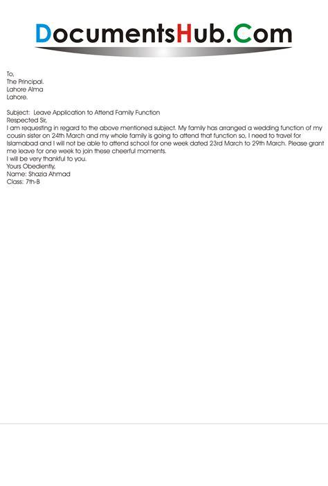 application letter  wedding leave psplculture questcom