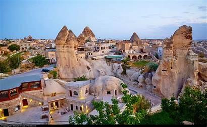 Cappadocia Turkey Mountain Rocks Youramazingplaces Above