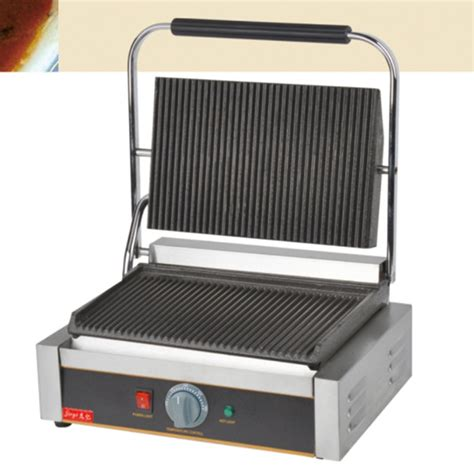 industrial sandwich toaster 220v 2200w non stick commercial single plate steak