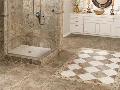 Bathroom : What are the Perfect Tile Floor Designs for