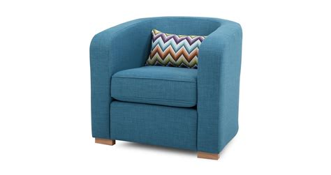 dfs pizzazz teal fabric accent chair with pattern bolster