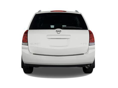 nissan quest rear image 2009 nissan quest 4 door s rear exterior view size