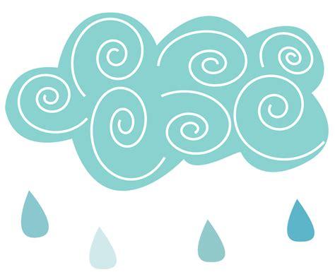 Rain Cloud Rain Clipart Cute Pencil And In Color Rain