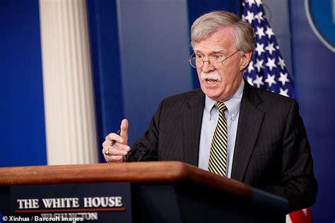 Angry John Bolton