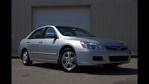 2007 Honda Accord Ex-l 2 4 Vtec Sedan