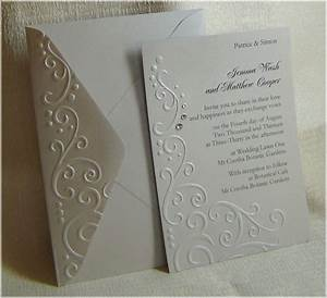 embossed wedding invitations invitations pinterest With wedding cards embossing machine