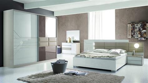 Italien Design Schlafzimmer Set Tizjana 4-teilig In Trendigem Design
