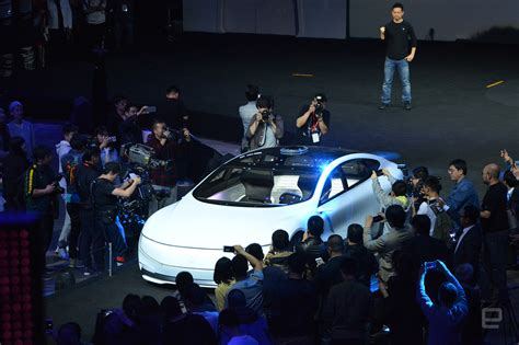 Chinas Leeco Teases Its Very Own Autonomous Electric Car