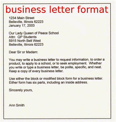business letters exles april 2015 sles business letters