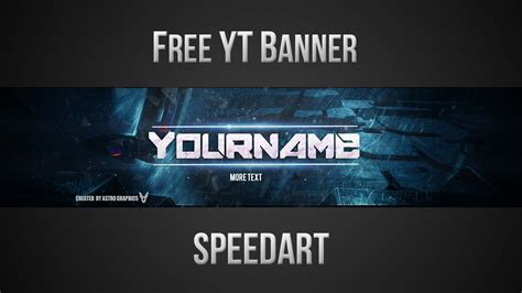 youtube banner template psd   youtube