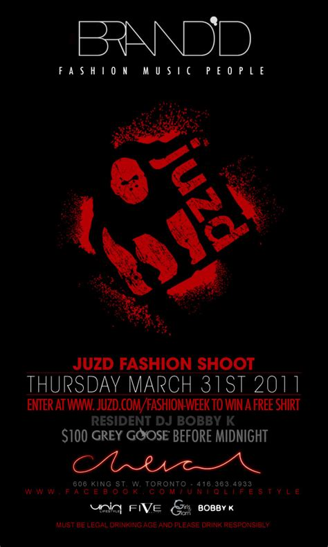 lg toronto fashion week contintues for juzd