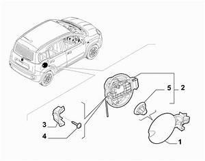 Technical  Fiat Panda 2018 Fuel Cap Dust Cover