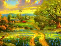 Beautiful Scenery Pain...Beautiful Nature Scenery Wallpapers
