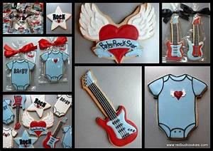 Rock Star Baby : baby rock star baby shower cookies baby must haves pinterest ~ Whattoseeinmadrid.com Haus und Dekorationen