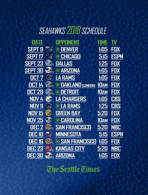 seahawks schedule   phone   lock