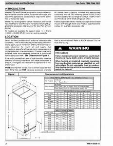 Icp Fsm2x2400a1 User Manual Fan Coils Manuals And Guides