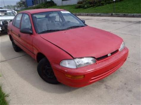 how things work cars 1995 geo prizm user handbook used 1995 geo prizm lsi car for sale at auctionexport